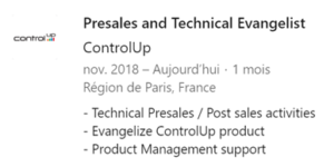 Why I joined ControlUp?